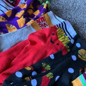 Other - Lot of fun crazy socks